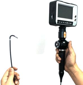 3.0mm Industry Video Scope with 4-Way Tip Articulating. 1.2m Testing Cable