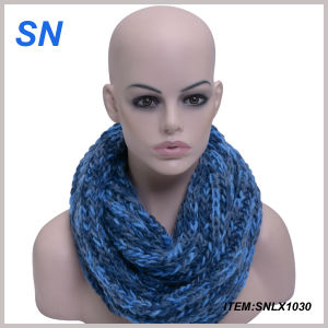 2014 Latest Design Winter Scarf Infinity Scarf (SNLX1030) pictures & photos