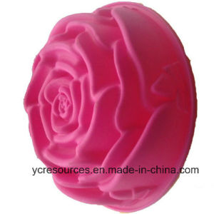Silicone Creative Big Size Rose Design Cake Mould pictures & photos