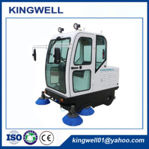 China Hot Sale Road Sweeper (KW-1900F) pictures & photos