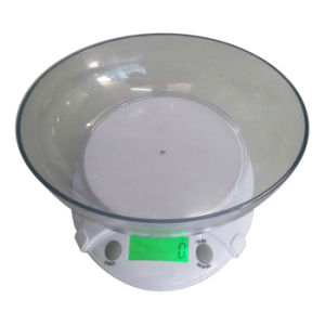 Backlight Bowl Kitchen Weighing Scale (XF-B09L) pictures & photos