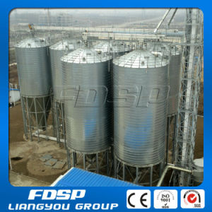 Top Ratings Spiral Soyabean Silo with Steel Structure pictures & photos