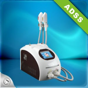 Double Handle Permanent Hair Removal High Quality IPL Shr pictures & photos