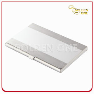 Shiny Folding Flip Type Metal Name Card Case pictures & photos