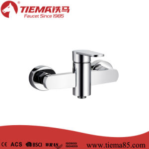 Hot Sell Brass Chrome Bathroom Shower Mixer (ZS60502)