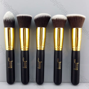 Gold Bronzer Blush Kabuki Makeup Brush (TOOL-13)