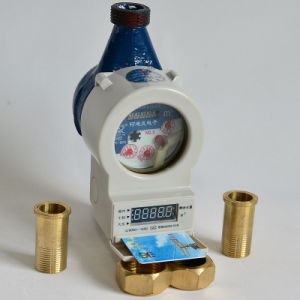 IC Card Prepaid Smart Cold Water Meter (SKZS-C/H) pictures & photos