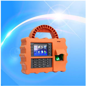 WiFi/GPRS Portable Biometric Fingerprint Reader Time Attendance (TFT500P) pictures & photos