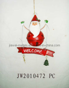 Metas Welcome Santa Hanging (JW10472)