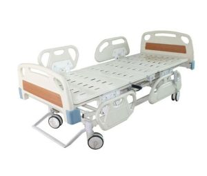 High Quality Three-Function Electric Hospital Patient Bed pictures & photos