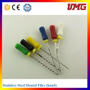 Medical Instrument Dental Root Canal Treatment Files pictures & photos