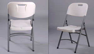 Lifetime Blow-Molded HDPE Plastic Folding Chair pictures & photos