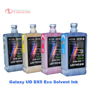 2 Year Warranty Galaxy Eco Solvent Ink for Dx5 Printer Head for Mimaki Printer