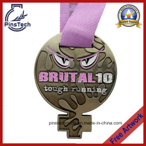 Die Cast Soft Enamel Running Medal Awards, No MOQ pictures & photos