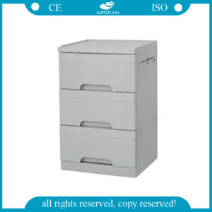AG-Bc002 Medical Bedside Cabinet ABS Material Hospital Cabinet pictures & photos