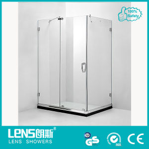 8mm Tempered Glass Sliding Door Shower Enclosure Lima E31