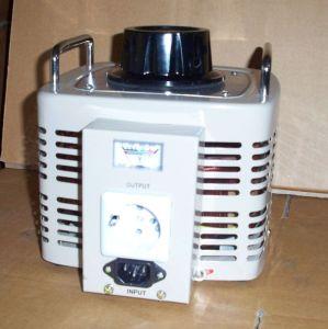 Special Tdgc2 Series Contact Voltage Regulator/Variable Transformer 1phase, Tdgc2-0.5/1/2/3/5/ with Europ Socket