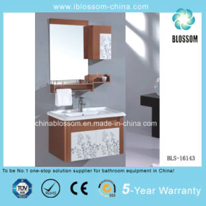 Ceramic Basin PVC Bathroom Cabinet, Vanity, Furniture (BLS-16143) pictures & photos