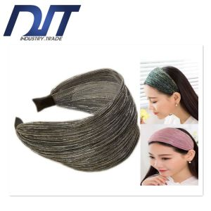 2017 Popular Wide Side Korea Material Fold Fabric Headband