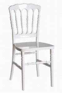 Polycarbonate Resin Wedding Banquet Dining Napoleon Chair pictures & photos