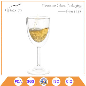 Double Wall Glass Cups for Champagne pictures & photos