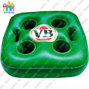 Water Inflatable PVC Beverage Drink Cup Rack Holder Floats pictures & photos