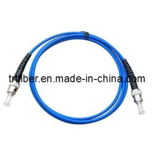 ST Armored Fiber Optic Patch Cord (Armored fiber jumper) pictures & photos