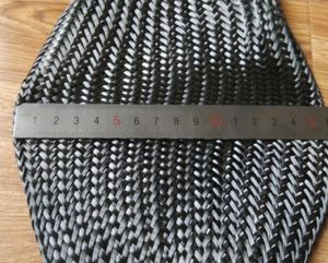 Carbon Fiber Braided Sleeve Cable Sleeve Tube