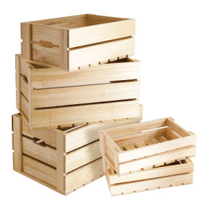 Wooden Box for Carrying and Storaging Fruits and Vegetables pictures & photos