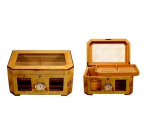Multifunction Wooden Cigar Humidor Cabinet pictures & photos