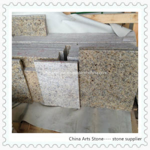 Chinese Yellow Granite Slab for Tiles and Vanity Tops pictures & photos