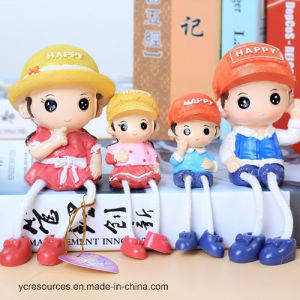 Parent-Child Combination Resin Decoration Toy (PG14002) pictures & photos