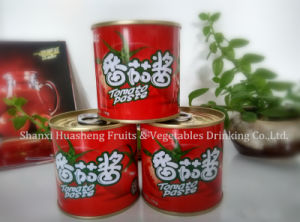 198g 18%-20% Canned Tomato Paste pictures & photos