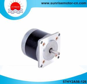57hy2a56 1.2A 60n. Cm NEMA23 1.8deg. CNC Round 2phase Stepper Motor pictures & photos