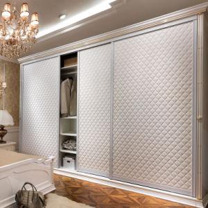 Wardrobe Doors Modern : Modern Three Doors Sliding Leather Wardrobe (YG11114) - China Wardrobe ...