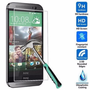 Tempered Glass Screen Protector for HTC One 2 M8