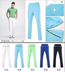 Golf Long Pants OEM Sports Leisure Pants pictures & photos