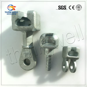 Forged Carbon Steel Galvanized 160kn Socket Clevis pictures & photos