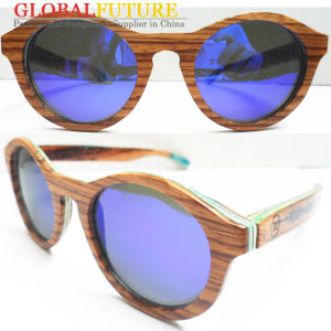 Fashion Zebra Wood Polarized Sunglasses