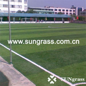 50mm Artificial Grass for Sport/Football/Soccer Field (SUNJ-HY-10-1) pictures & photos