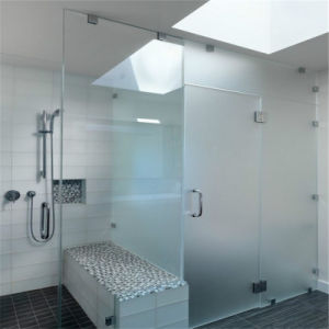 Safety Tempered Shower Clear Door Glass pictures & photos