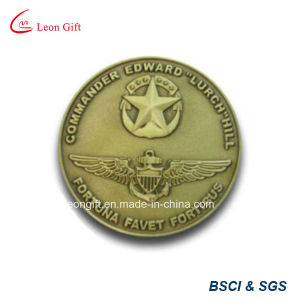 Iron / Brass Metal Gold Souvenir Coin for Custom Gift pictures & photos