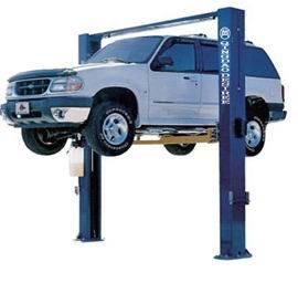 2 Column Clear Floor Auto Hoist Hydraulic Car Lift for Repair