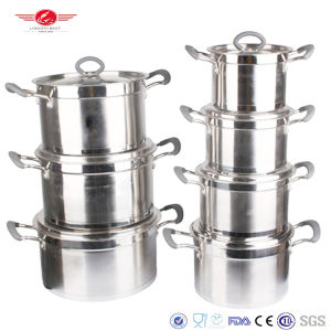 Fine Finished Stainless Steel Cookware pictures & photos