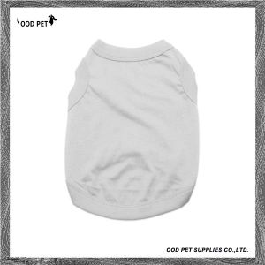 Grey Cotton Dog Clothing Dog Tank Top Spt6003-7 pictures & photos
