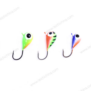 Wholesale High Quality Ice Fishing Rain Drop Tungsten Ice Jig pictures & photos
