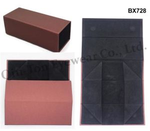 New Fashion PU Folding Sunglaases and Optical Case with CE (BX-728)