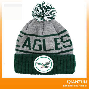 Winter Acrylic Embroidery Logo Knitted Hats pictures & photos
