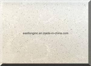 Snow White Quartz Stone Slab Artificial Stone pictures & photos