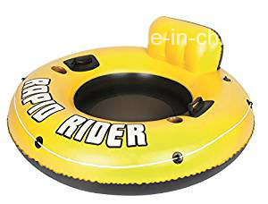 """Yellow Rider Inflatable Snow Tube, 53"""""""